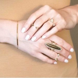 House of Harlow 1960 • Oval Geodesic Ring